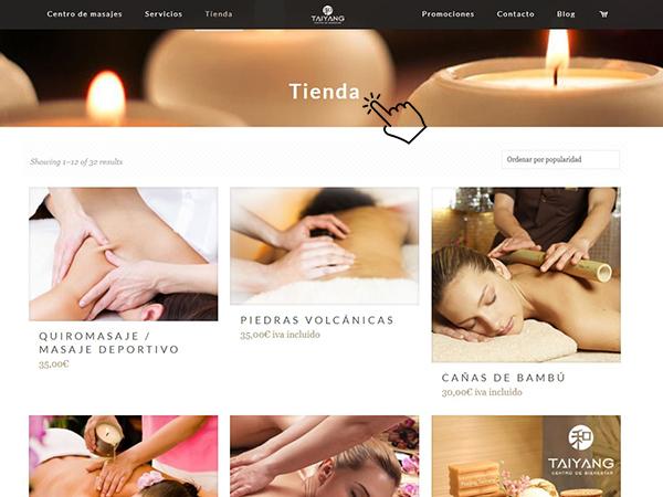 tienda online de masajes en Vigo