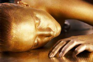 tratamiento facial oro
