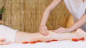 masaje con flores para bodas en vigo