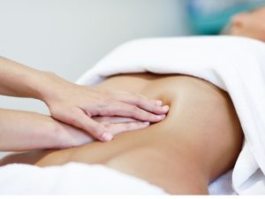 masaje vientre plano