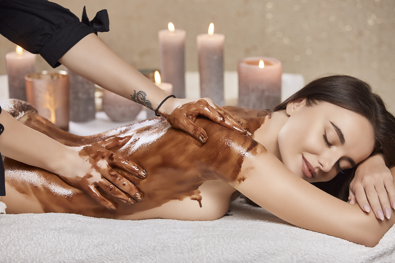 Masaje de chocolate y aceites esenciales en Vigo