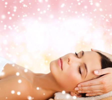 Masaje mágico de cabeza, masaje relajante
