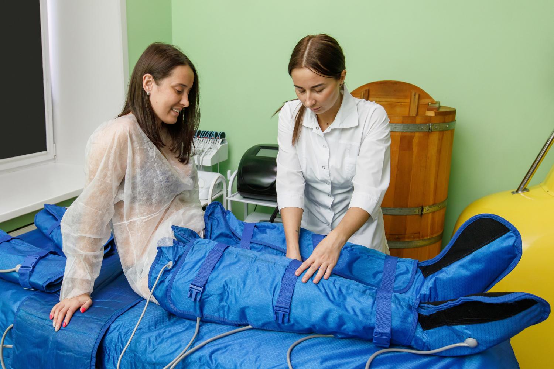 Tratamiento de presoterapia en Vigo